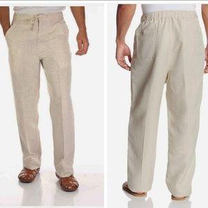 """CUBAVERA LINEN/VISCOSE PANTS Inseam 32"""""""